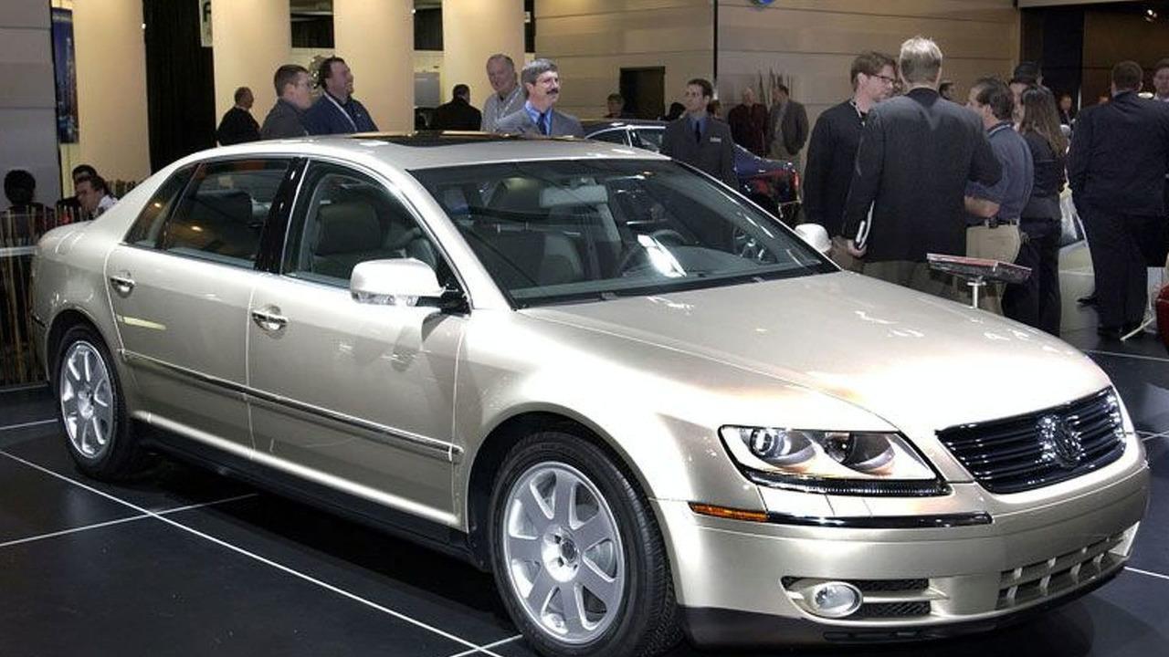 VW Phaeton at NAIAS 2004