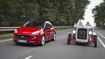 Loryc Electric Speedster with Opel Adam parts