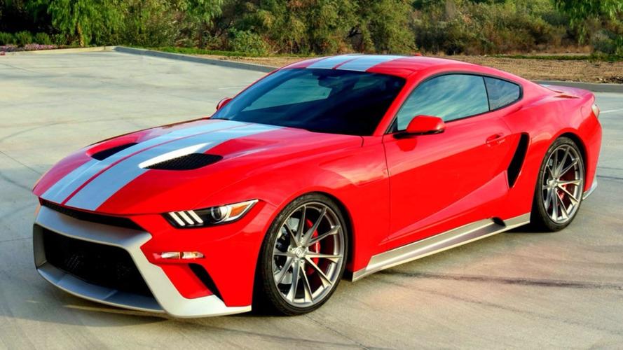 Bu özel Mustang, yeni GT'ye gönderme yapıyor