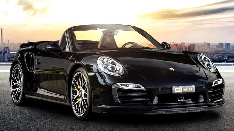 Porsche 911 Turbo S Cabriolet by O.CT Tuning dialed to 669 PS and 880 Nm
