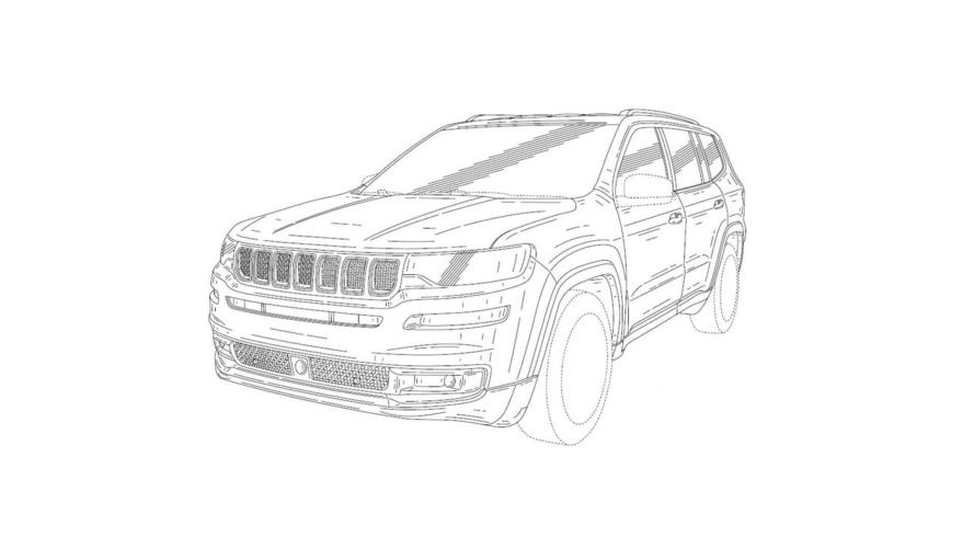 Jeep Patent Drawings Show 7-Seat SUV – Could It Be The Wagoneer?