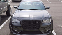 Chrysler 300 Hellcat Spied