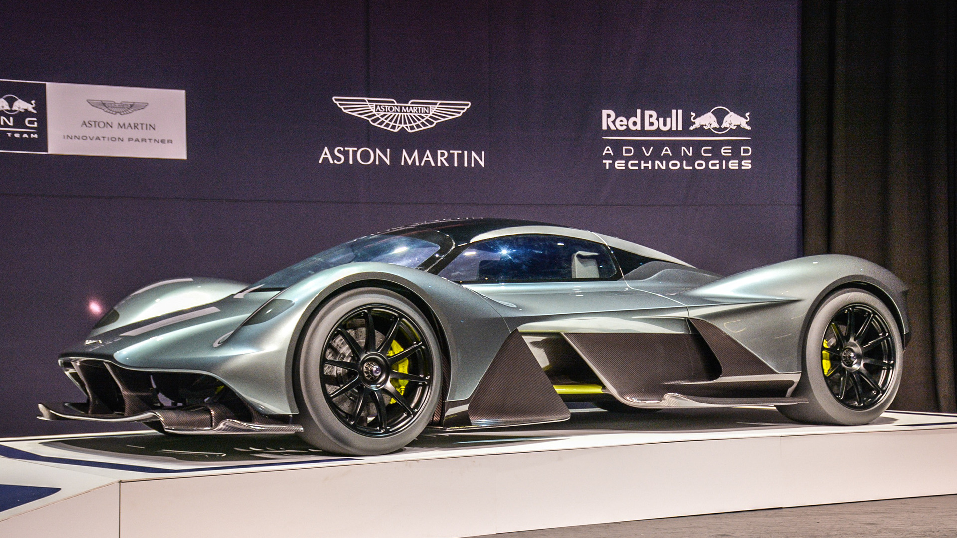 the aston martin valkyrie is getting a mid engined baby Aston Martin Bond aston martin racing hackett 59 logo polo shirt