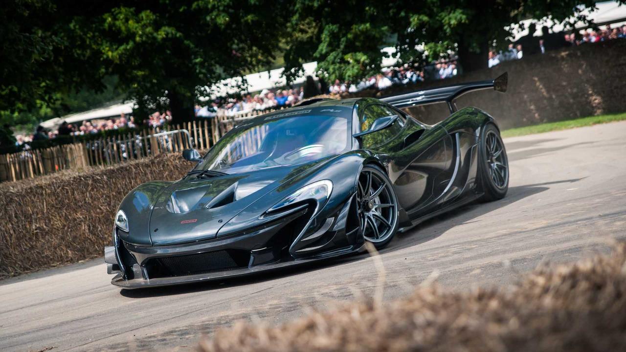 McLaren P1 LM at Goodwood