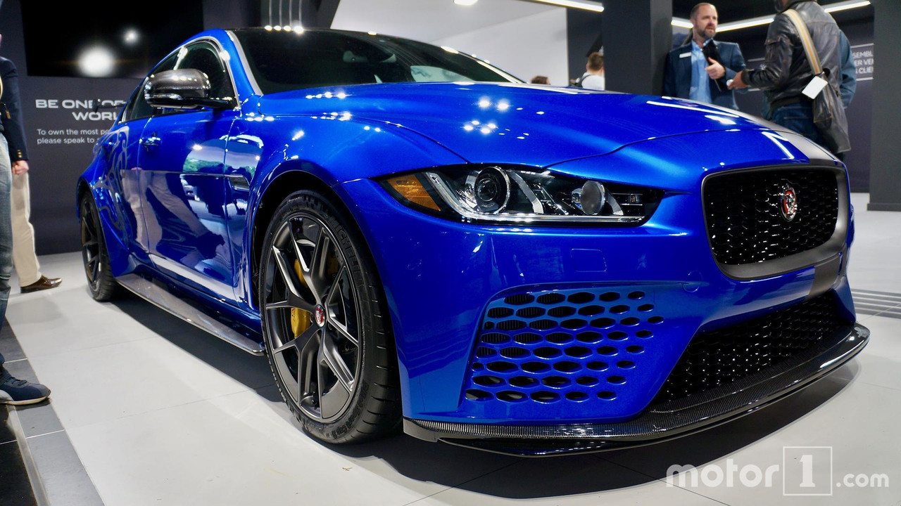 jaguar xe sv project 8 to make north american debut in monterey. Black Bedroom Furniture Sets. Home Design Ideas
