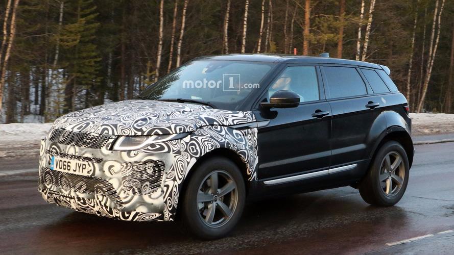 Range Rover Evoque de nova geração já nascerá híbrido plug-in