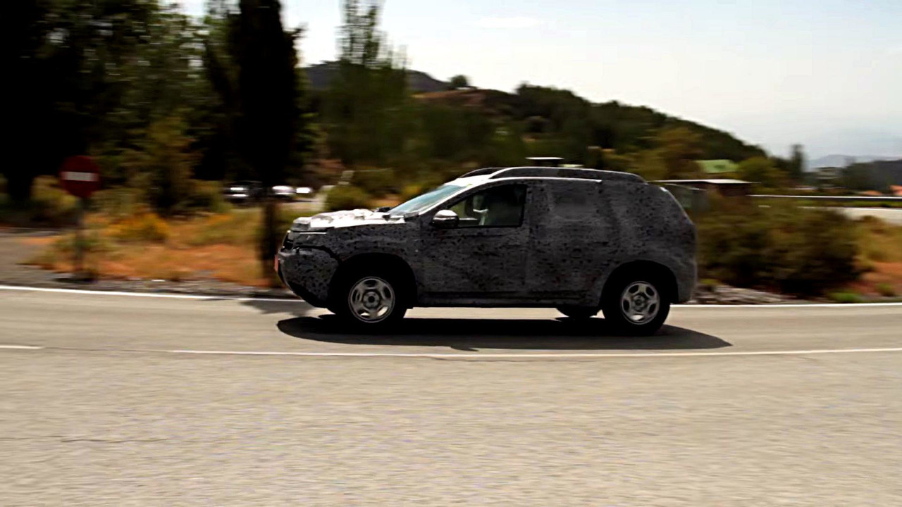 2018 dacia duster first spy video pops up. Black Bedroom Furniture Sets. Home Design Ideas
