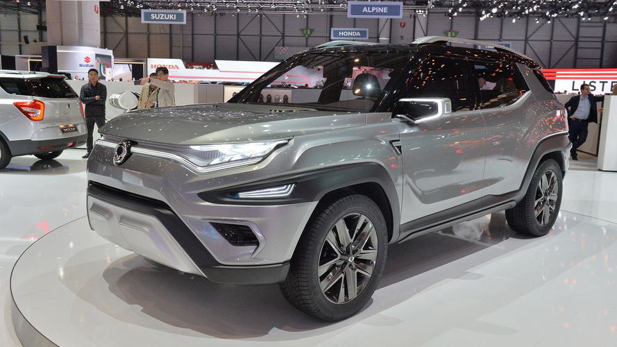 Ssangyong'un XAVL konsepti bir minivan ve SUV karışımını andırıyor