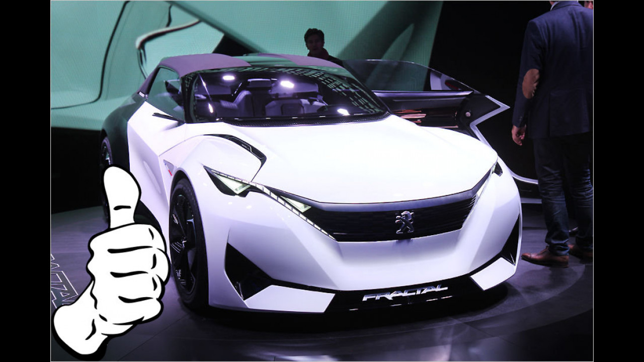 Top: Peugeot Fractal Concept