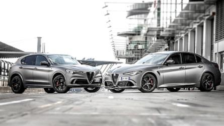 Alfa Romeo Giulia e Stelvio NRING, le special per il record