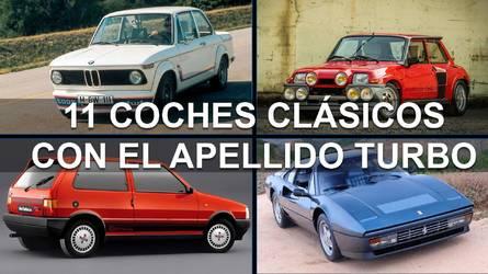 11 coches clásicos con el apellido Turbo