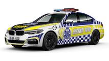BMW 530d pour la police de Victoria