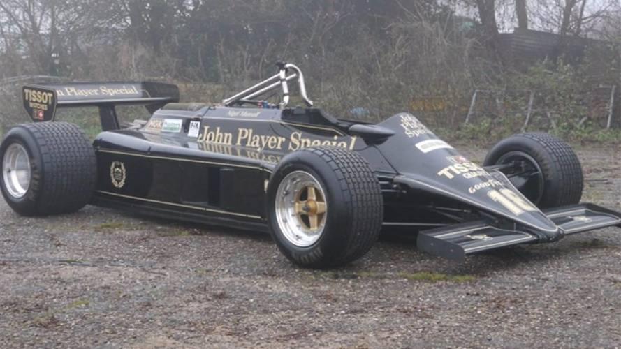 Veja Lotus de Mansell e outras raridades da F1 à venda