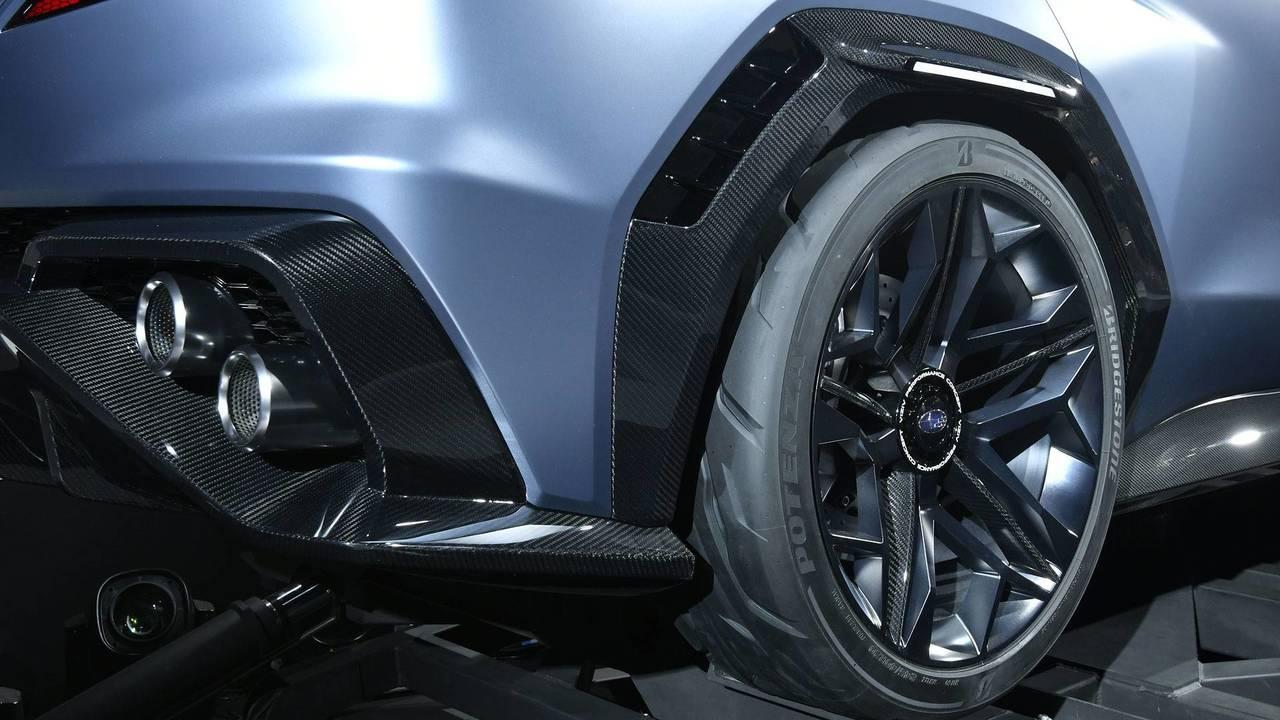 Subaru Viziv Performance konsepti - Çamurluklar