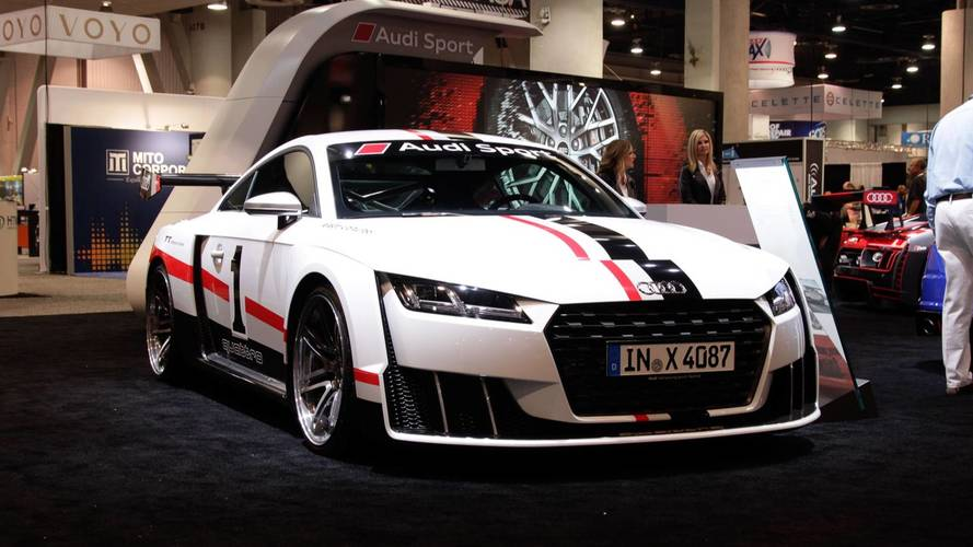 Audi TT Clubsport konsepti SEMA'ya 600 bg getirdi