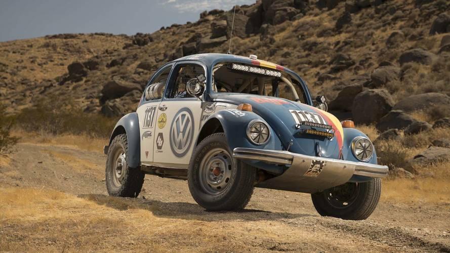 VW bu yılki Baja 1000'de eski Beetle'a sponsor oldu