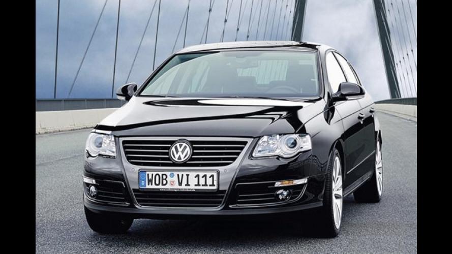 VW Passat: Designpaket mit dunklen Schattierungen