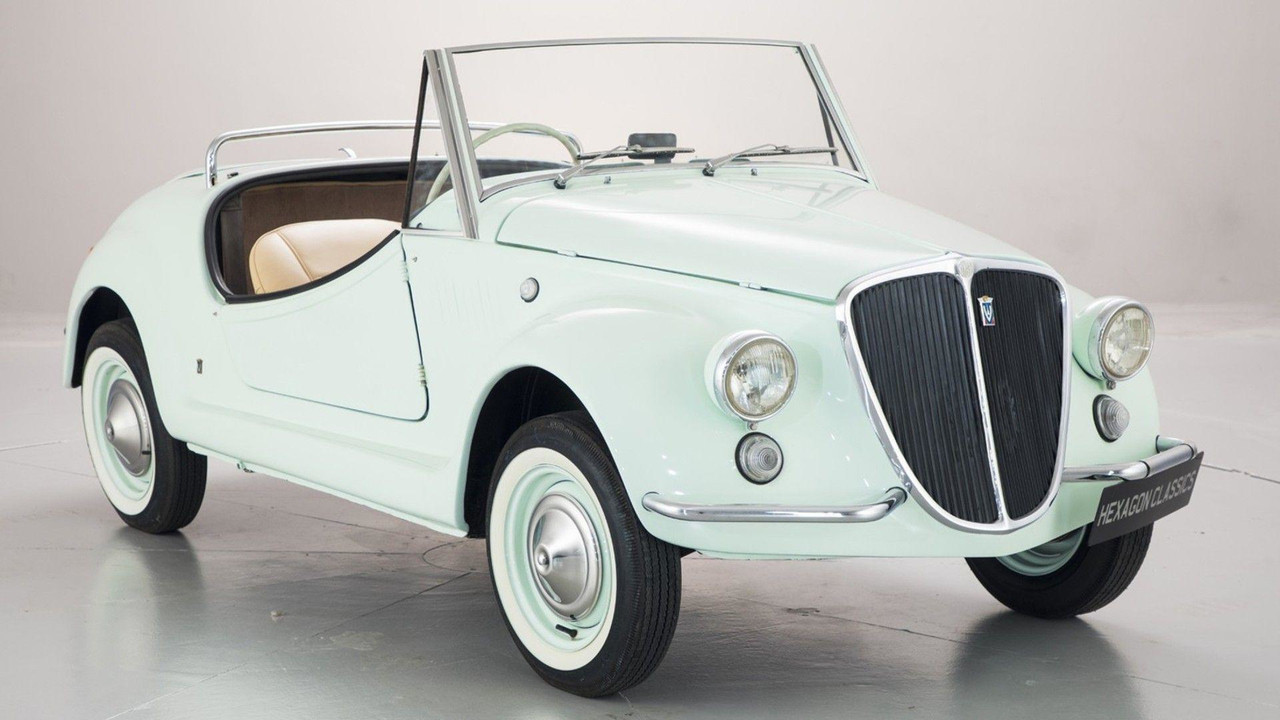 Preferenza 1971 Fiat 500 Gamine By Vignale | Motor1.com Photos MH98