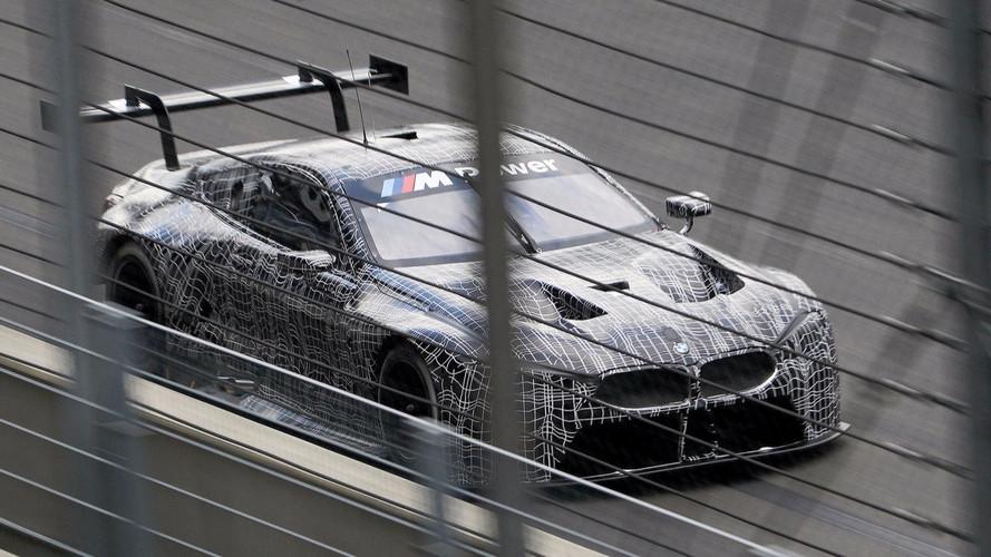 BMW M8 GTE Test