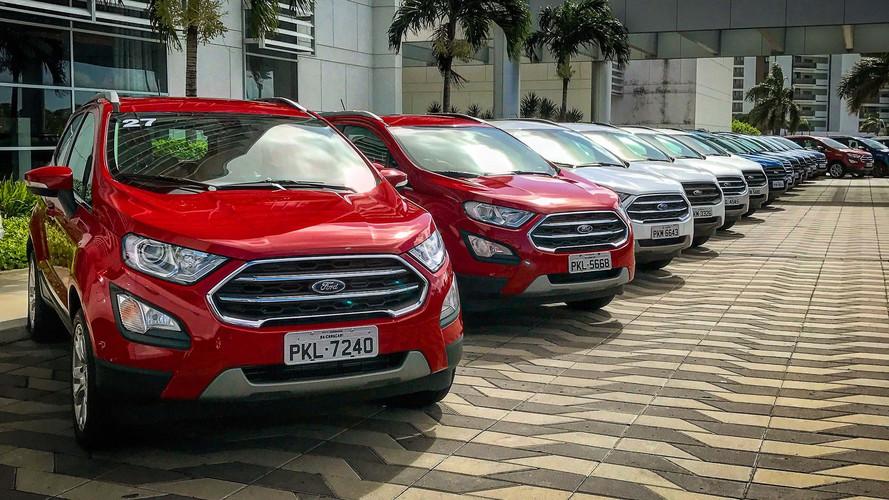 Inmetro adianta novas versões do Ford EcoSport 2018