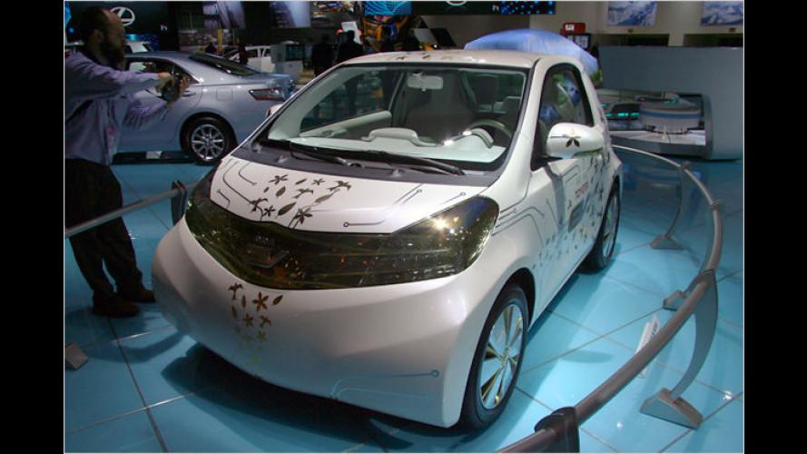 Weltpremiere in Detroit: Konzeptstudie FT-EV von Toyota