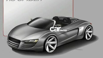 Audi R8 Targa design sketch