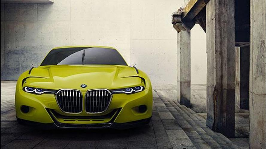 BMW 3.0 CSL Hommage, un tuffo nel passato