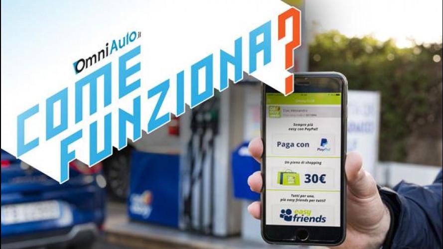 Q8easy Club, come funziona l'app per pagare il carburante via PayPal [VIDEO]