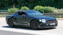 Bentley Continental GTC Spy Photos