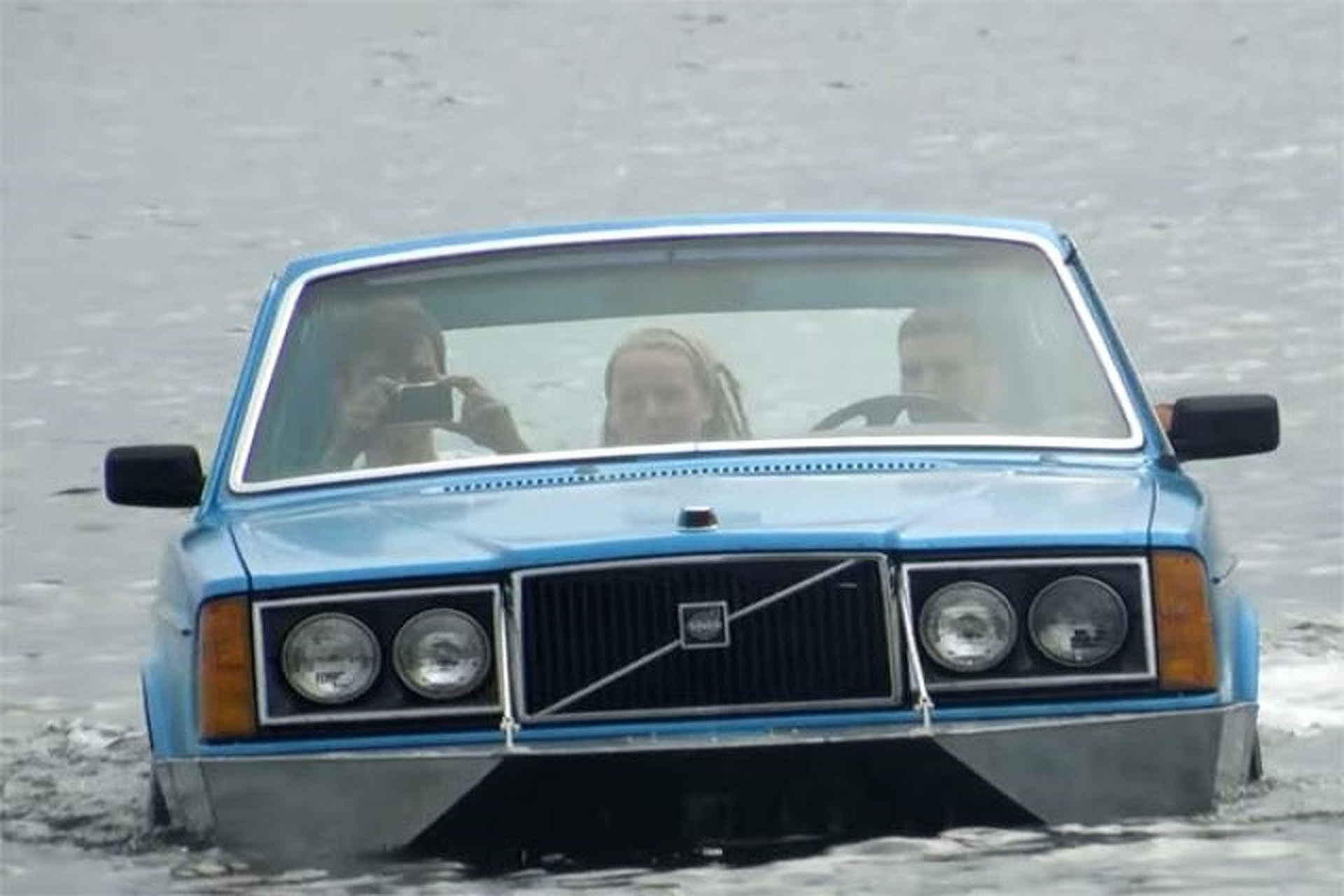 Behold The Wonder of The Volvo Boat [w/Video]