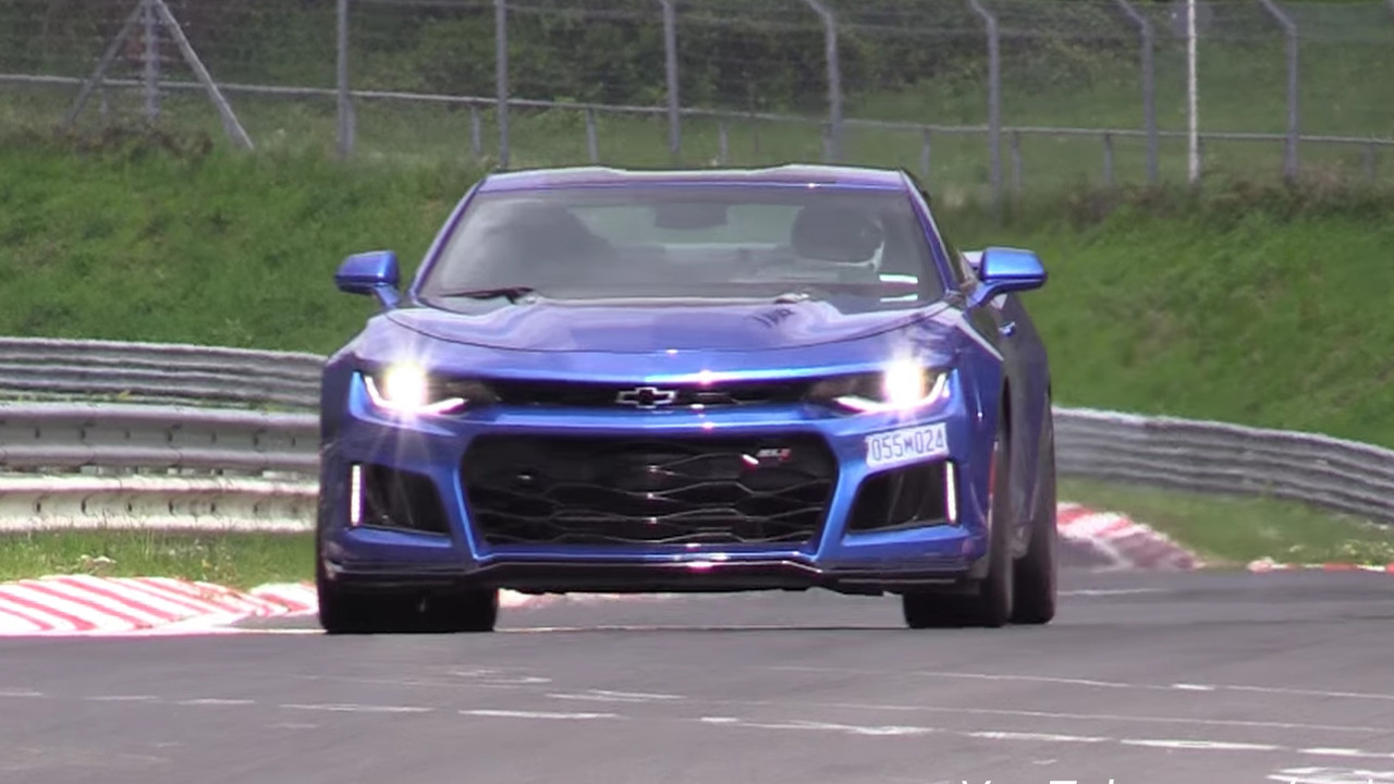 2017 Chevrolet Camaro ZL1 coupe on the Ring