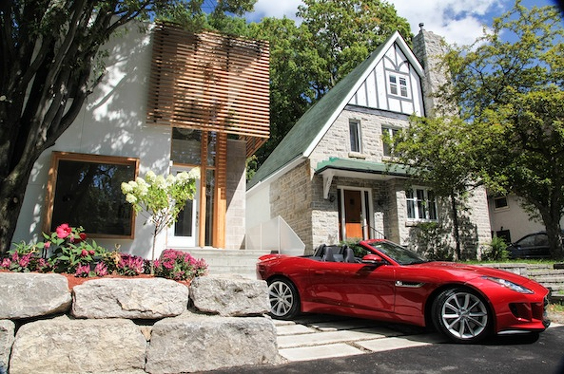 Buy This Sweet Canadian House and Get a Jaguar F-Type For Free
