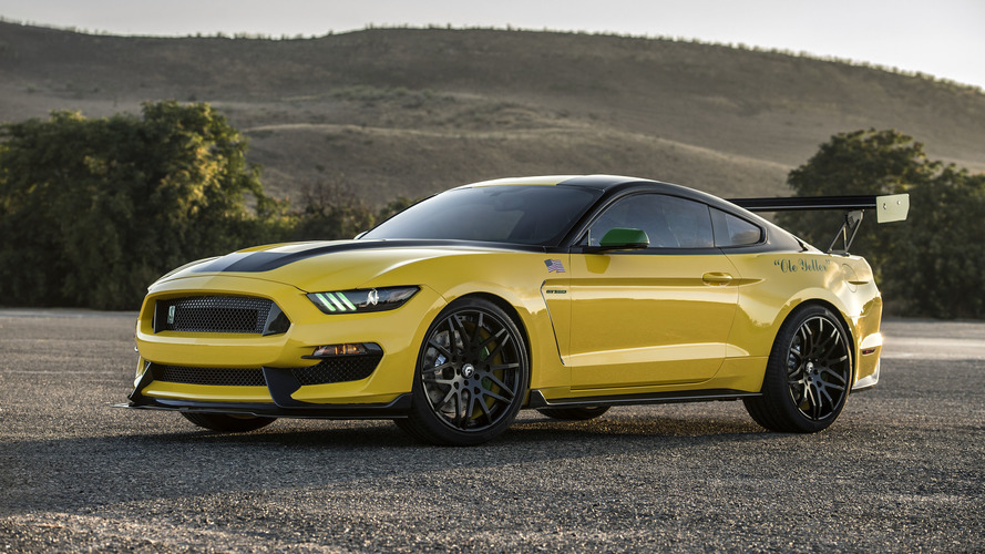 Custom Shelby GT350 Ole Yeller Mustang raises $295k for charity