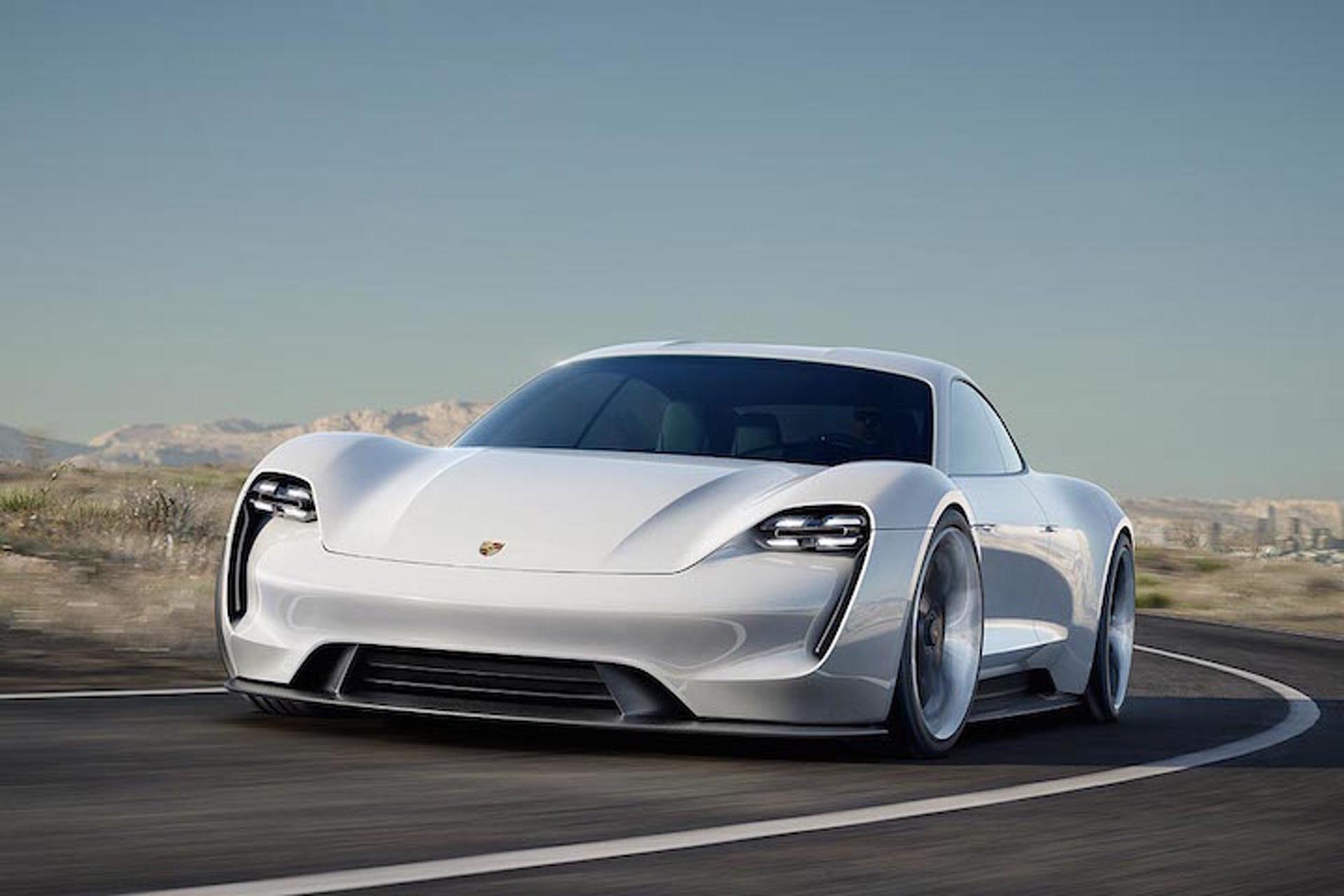 Porsche's 600-HP Mission E Electric Sedan is Efficient, Beautiful