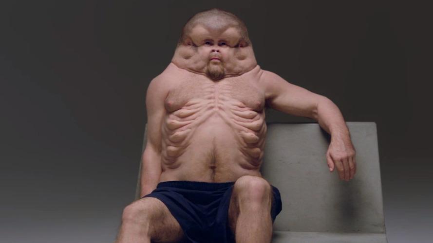 Artist designs car crash proof human body