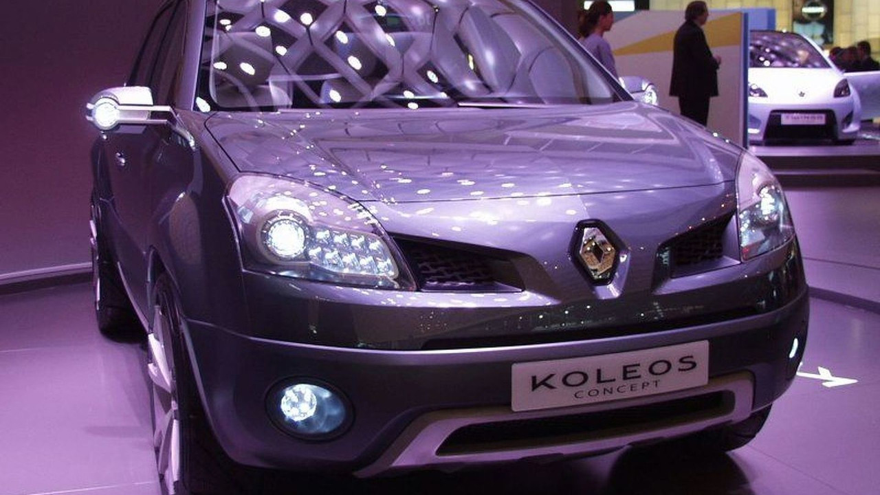 Renault Koleos Concept at Paris