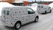 Mercedes Benz Citan spy photos 12.03.2012
