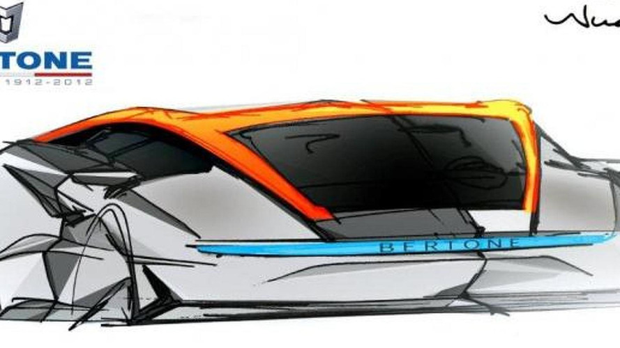 Bertone Nuccio Concept previewed for Geneva premiere