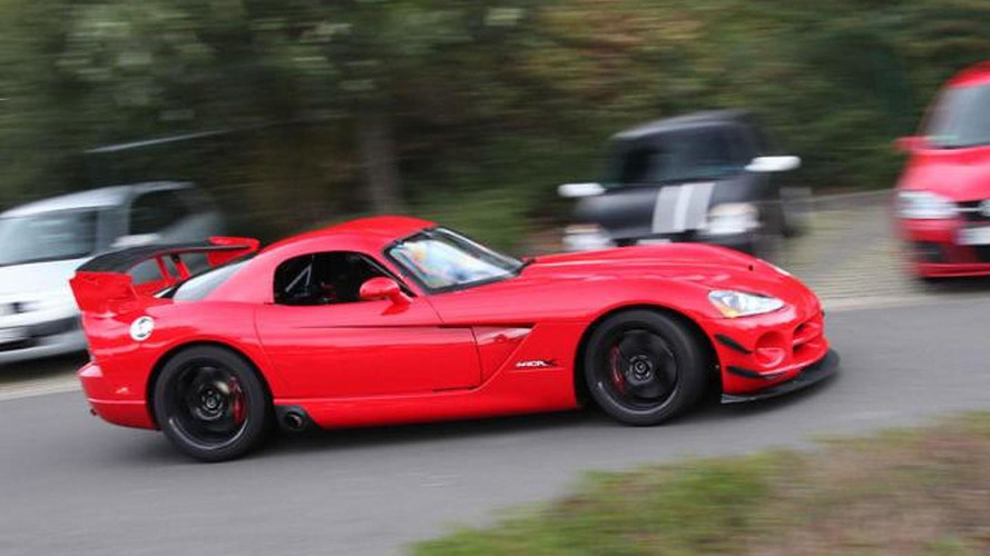 Viper ACR-X laps Nurburgring in 7:03 [video]