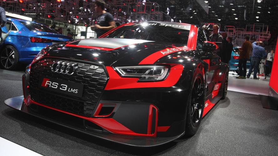 Audi lance la RS3 LMS pour le championnat TCR