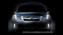 Adiantando novo sedan: Subaru mostrará o Legacy Concept no Salão de Detroit