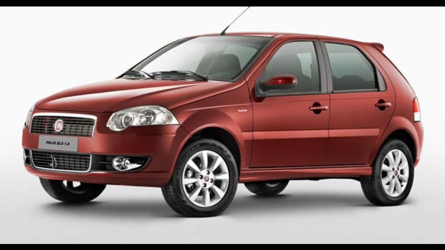 Fiat lança Palio ELX 1.8, Siena HLX 1.8 e Idea Adventure equipados com câmbio Dualogic
