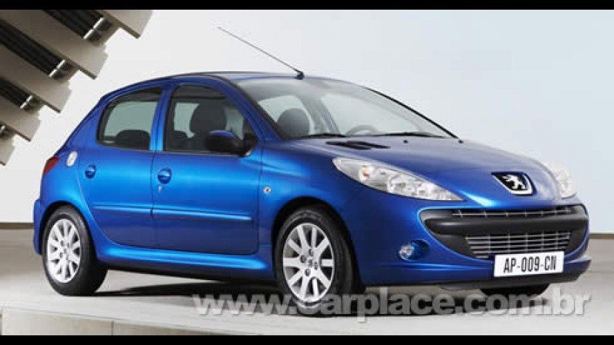 Peugeot 207 brasileiro é lançado na Europa como versão de entrada 206 Plus 2009