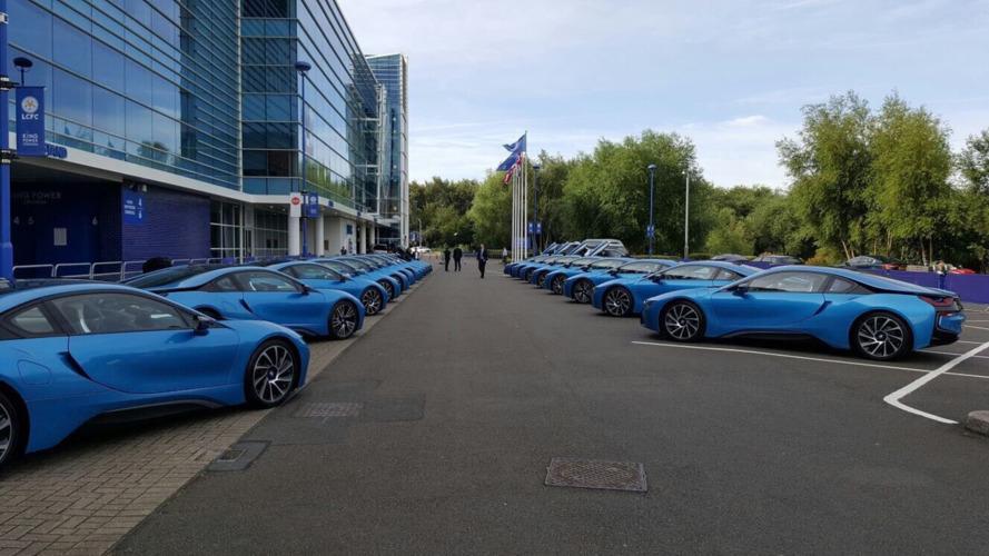 Leicester City oyuncuları, BMW i8'lerini bulmakta zorlanıyor