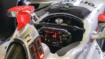 Will Power, Team Penske Chevrolet, steering wheel detail