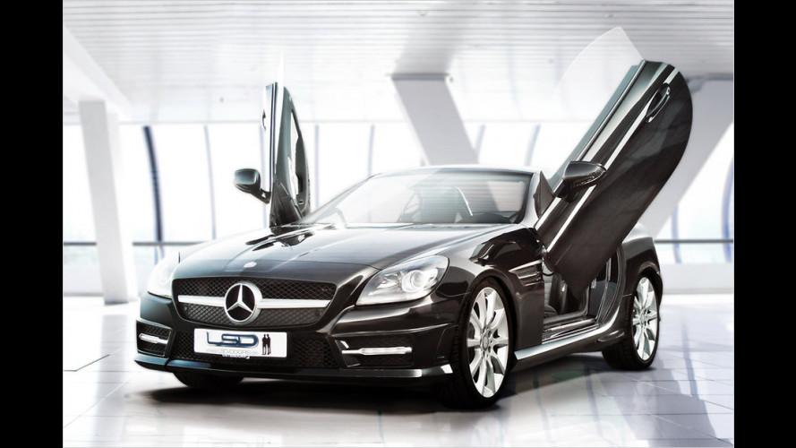 Mercedes SLK mit Scherentüren