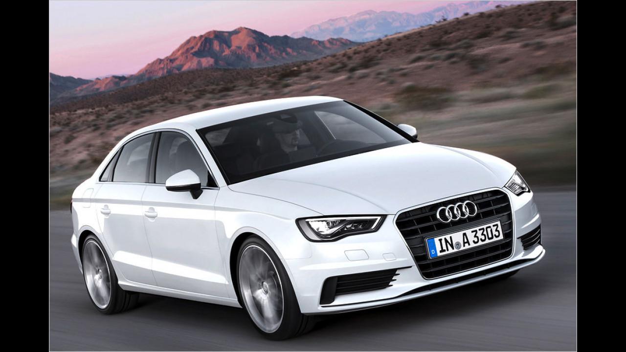Platz 7: Audi A3, S3, RS3
