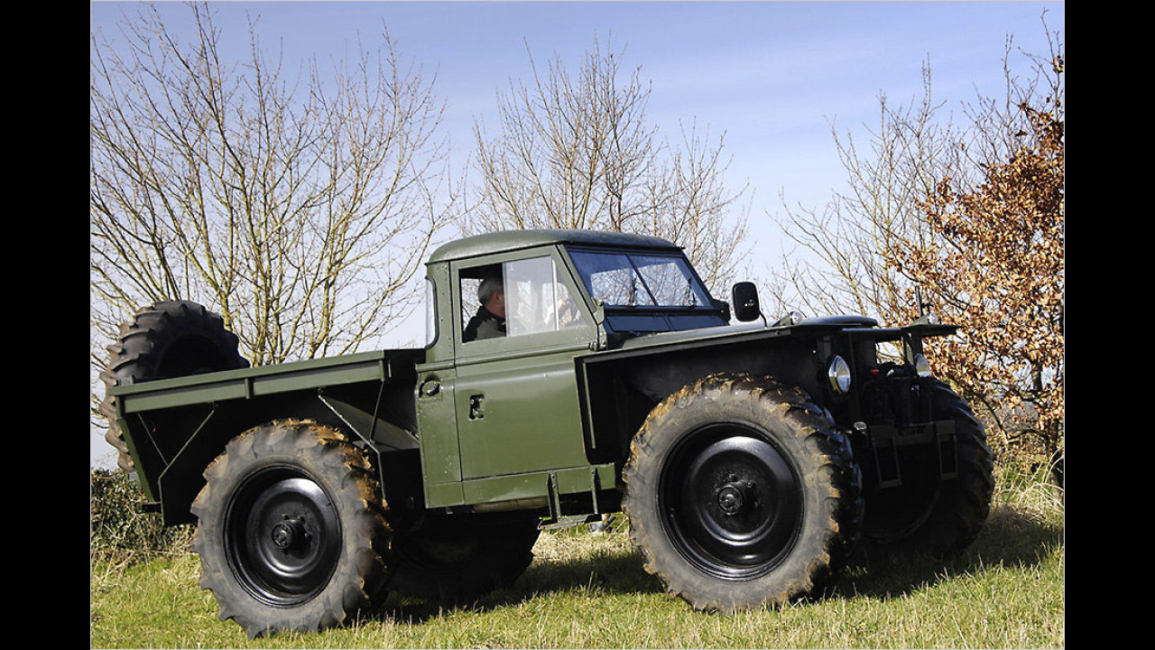 Land Rover Series II 109'' for foresty Work