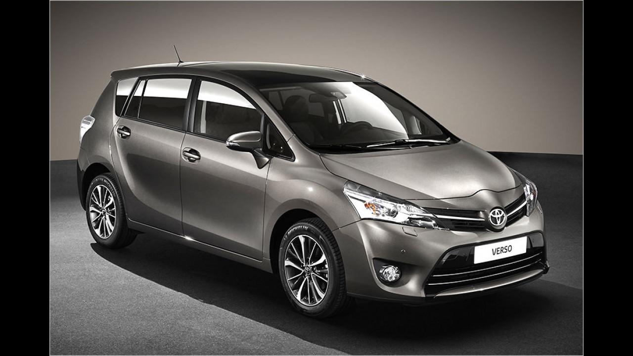 Toyota Verso sicherer