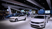 Volkswagen display live in Chicago